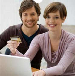 Client pays online
